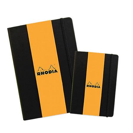 Rhodia Lined Webnotebook 5.58x8.3 Black