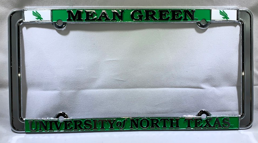 THIN RIM LICENSE PLATE FRAME