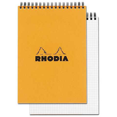 Rhodia Wire Bound Grid Sketch Pad No. 18 8.3x11.7
