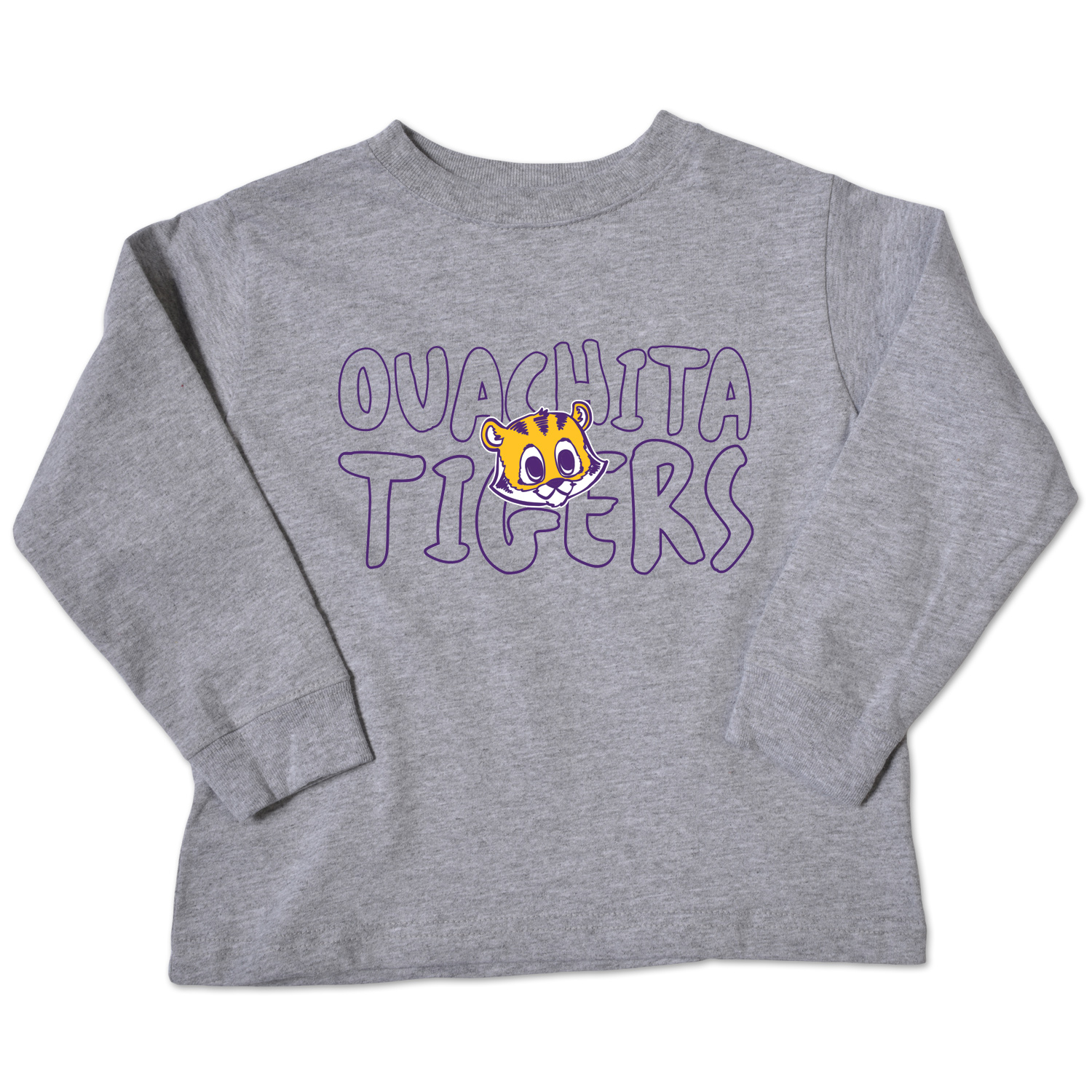 OUACHITA TIGERS LS TODDLER TEE