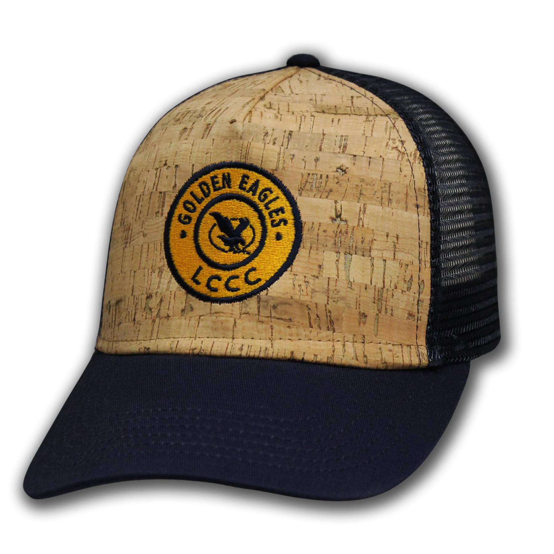 Golden Eagles Cork Snapback Hat
