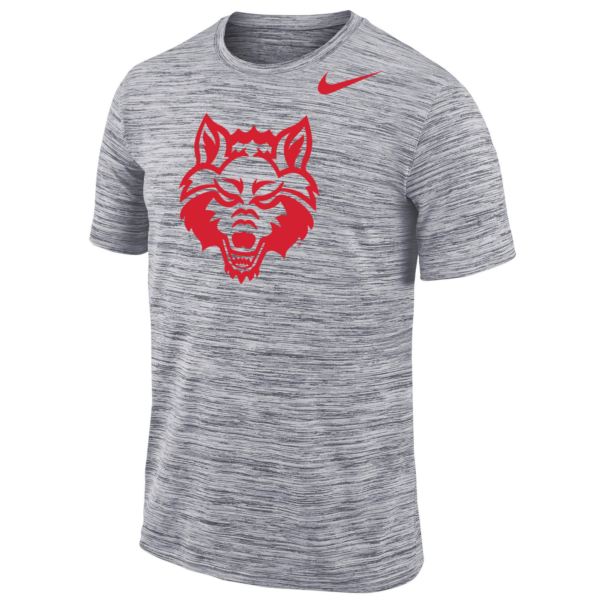 Red Wolves Velocity SS Tee