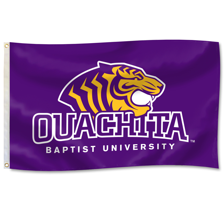 OUACHITA BAPTIST UNIVERSITY 3' X 5' DURAWAVE FLAG