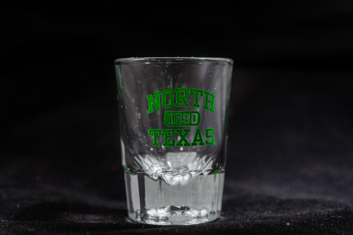 HEAVY BOTTOM SHOT GLASS