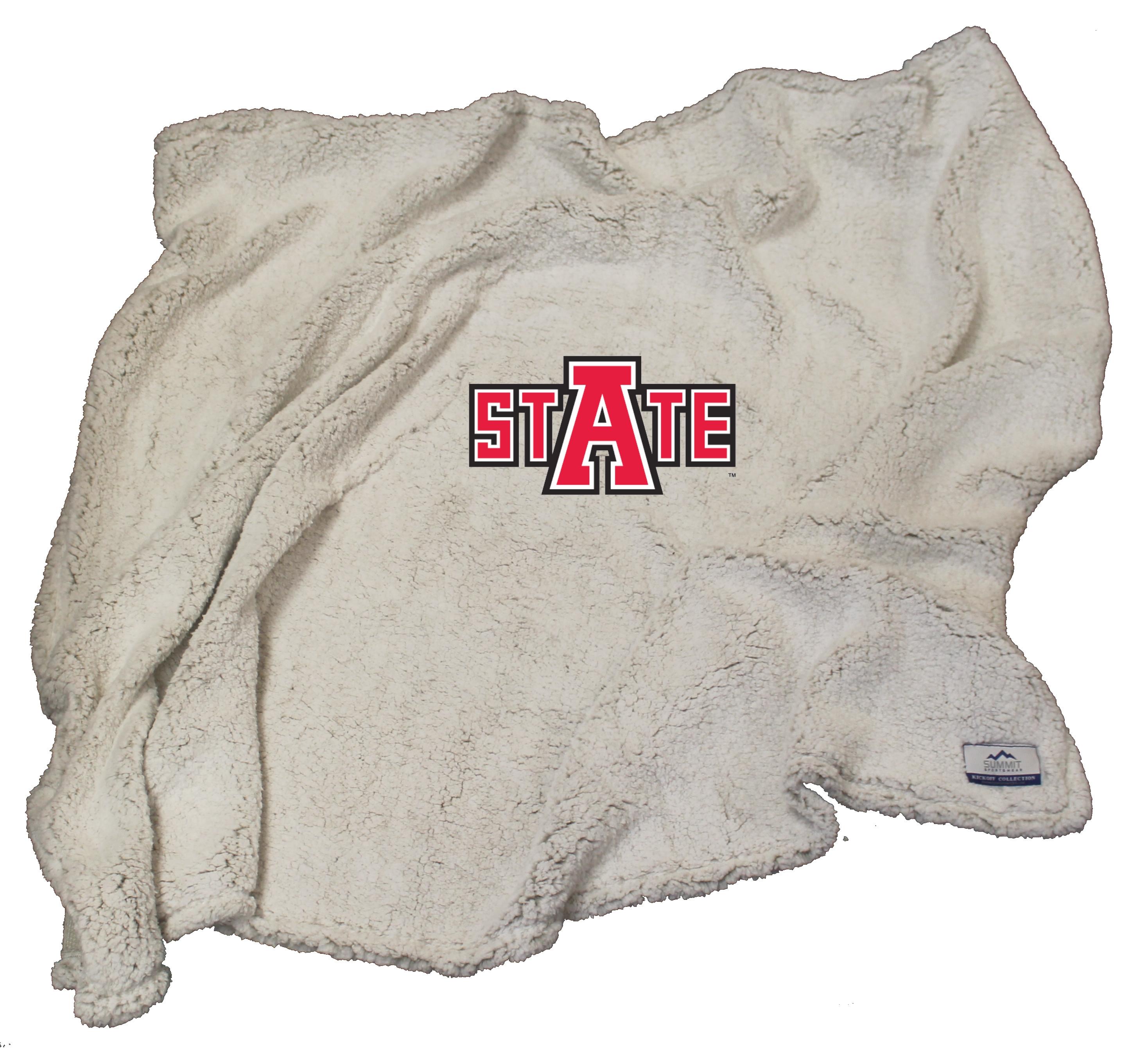 Arkansas State Sherpa Blanket
