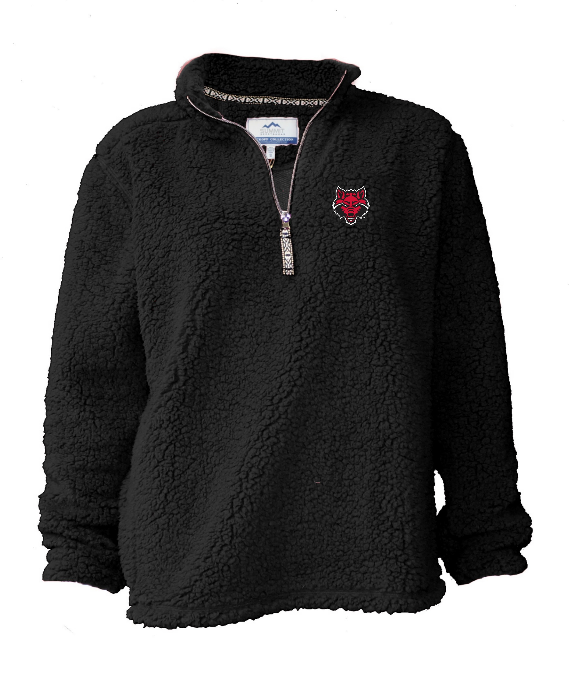 Red Wolves Youth Sherpa 1/4 Zip
