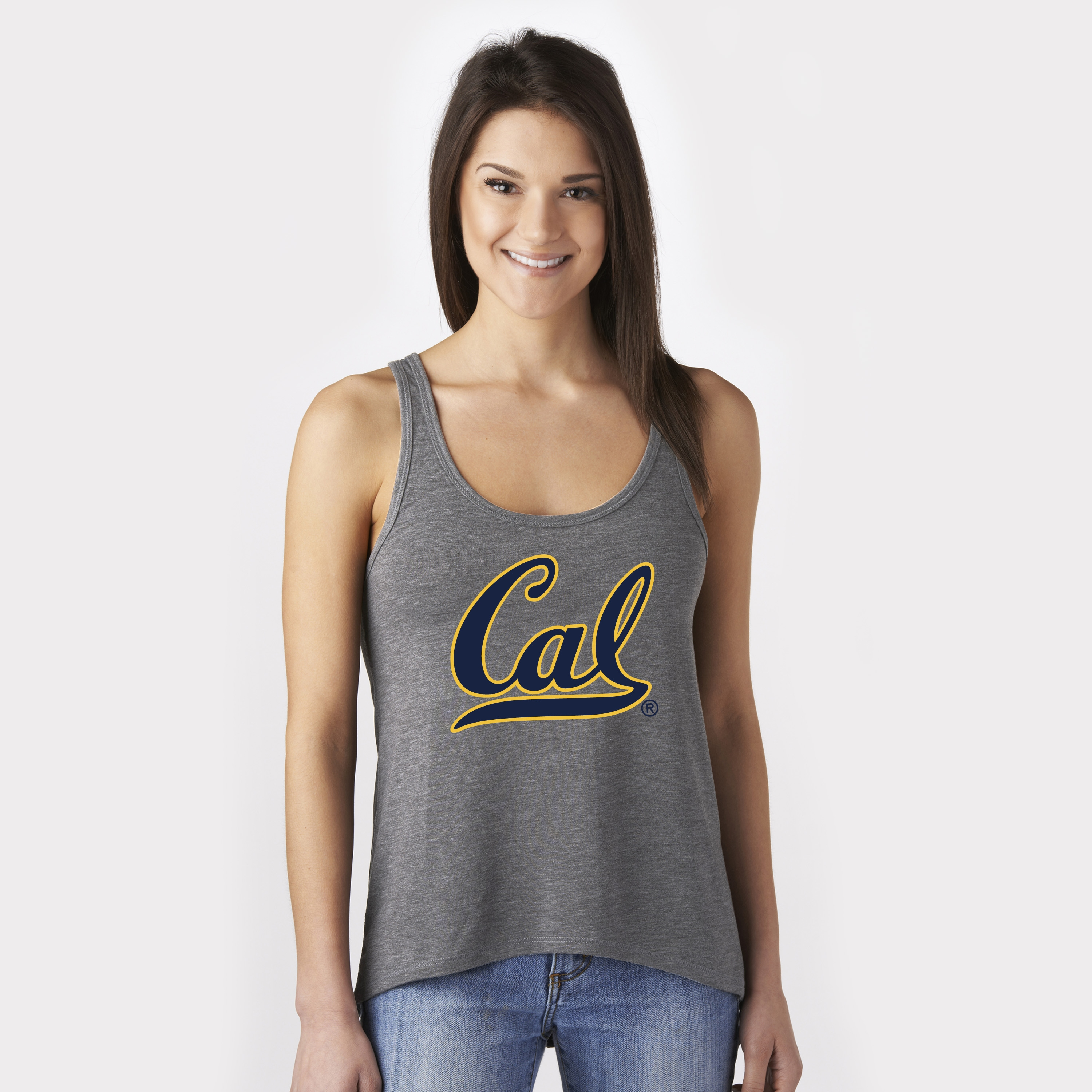 MD25-University of California Berkeley Women's Slouch Tank by Campus Crew