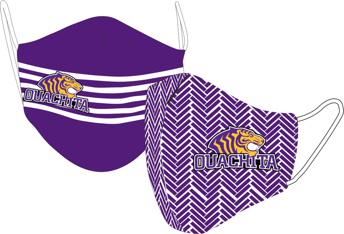 OUACHITA LOGO REVERSIBLE FACE MASK