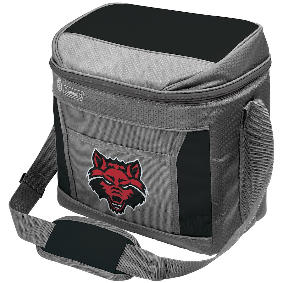 Coleman Arkansas State Red Wolves 9-Can 24-Hour Soft-Sided Cooler