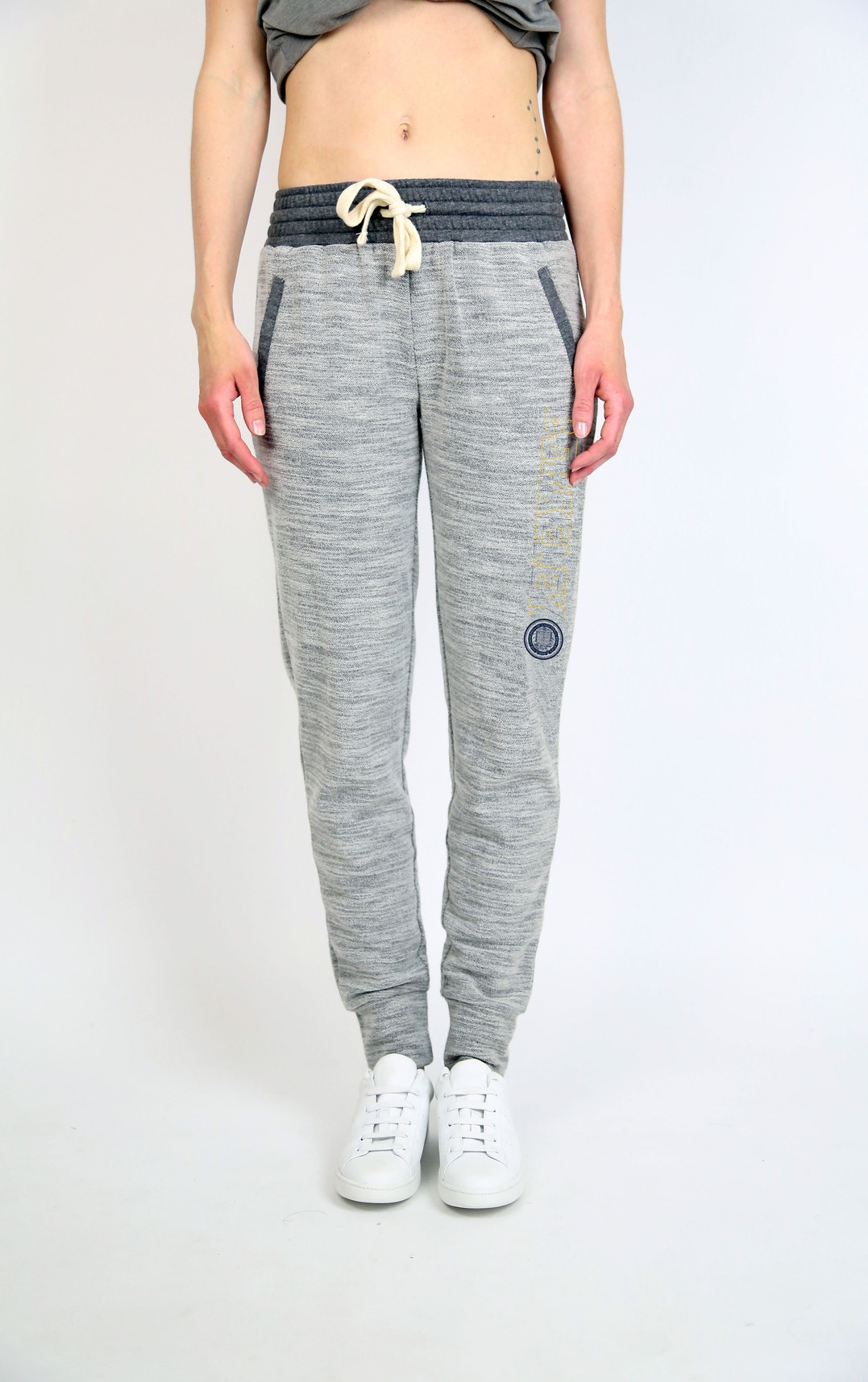 University of California Berkeley Women's Reverse Terry Pant by Campus Crew