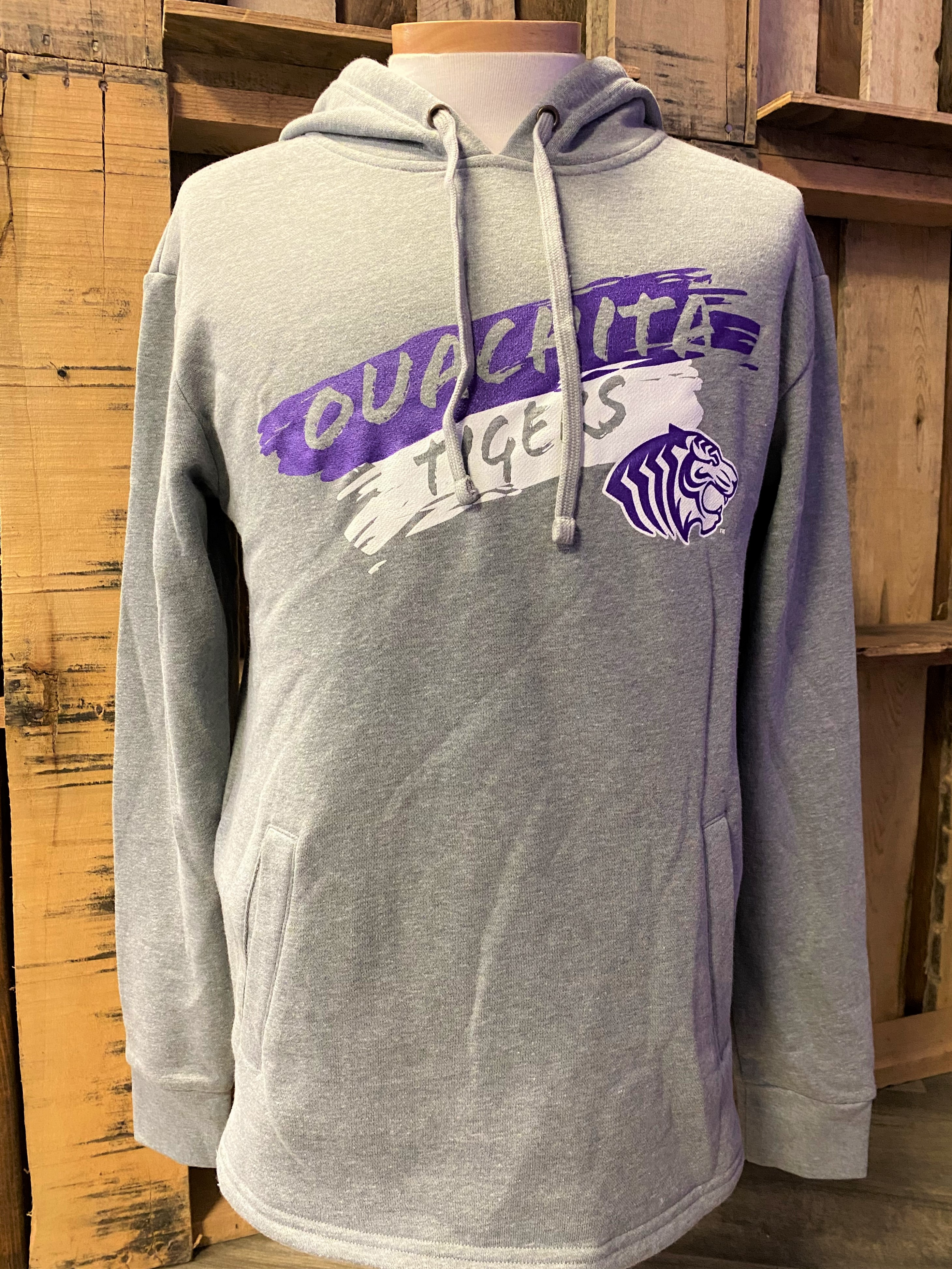 OUACHITA TIGERS HOODED PULLOVER