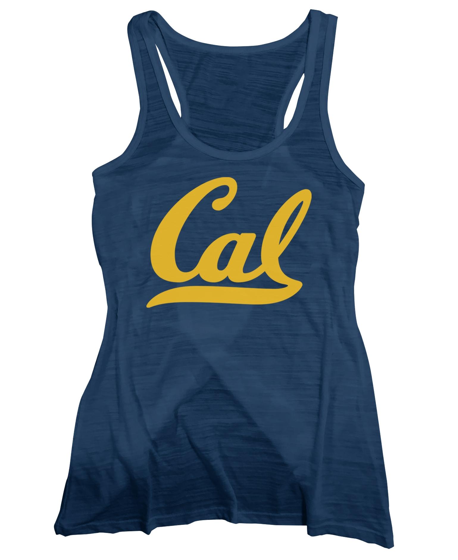 "University of California Berkeley Ramonita Ladie's Split Back Tank ""Cal"""