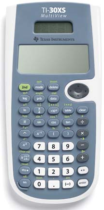 TI-30XS MultiView Scientific Calculator