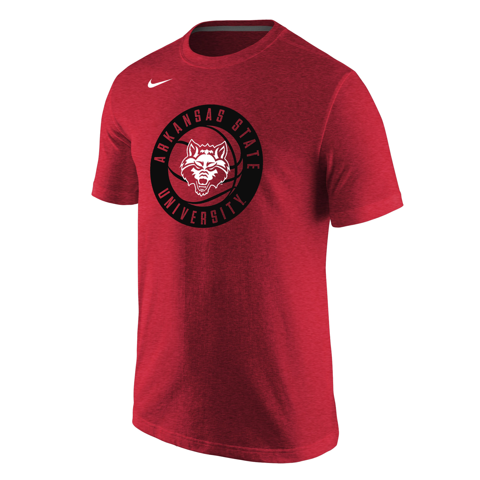 Arkansas State Basketball TriBlend SS Tee