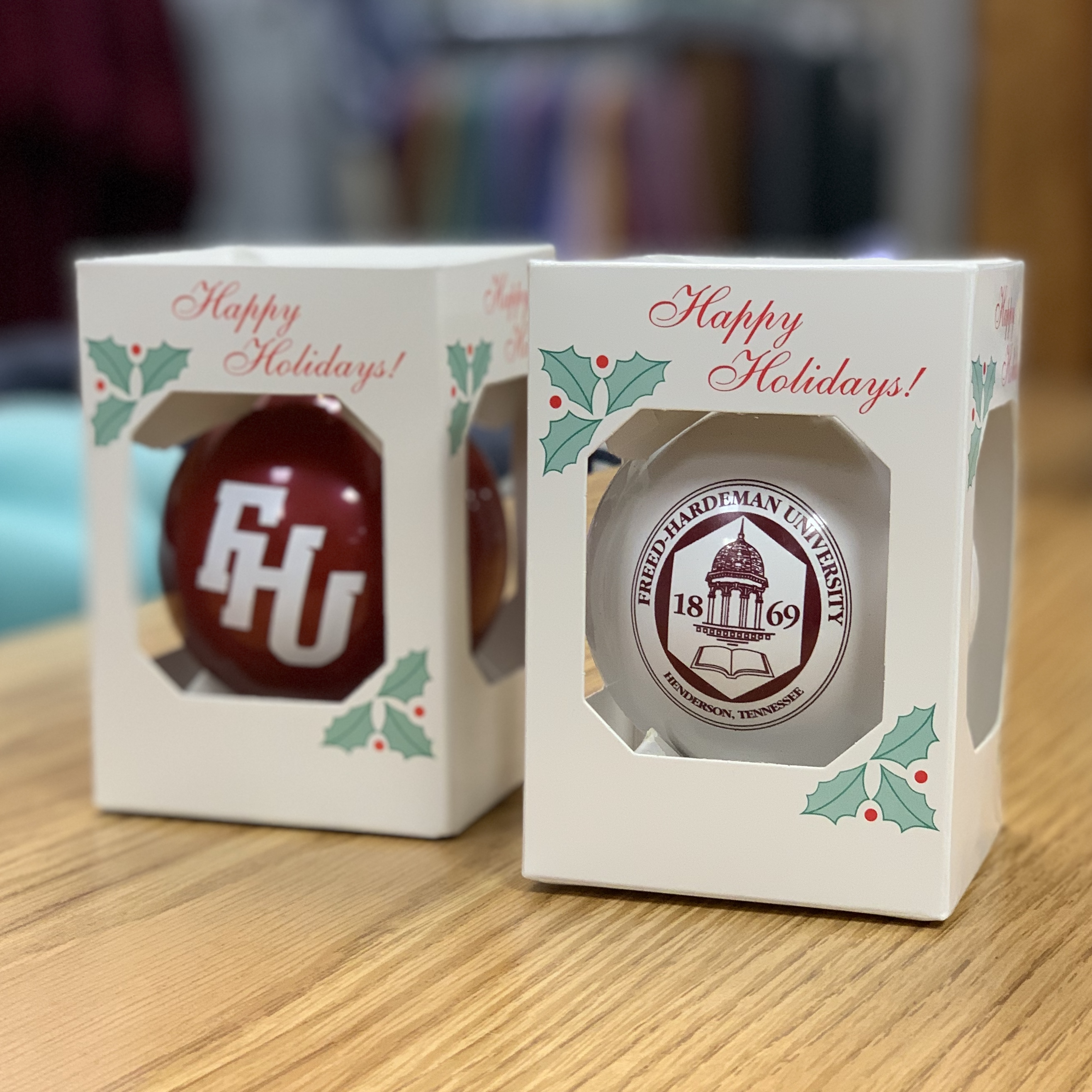 FHU Christmas Ornaments - 2 Pack