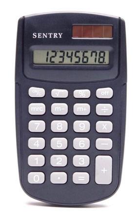 Sentry Dual-Power Calculator