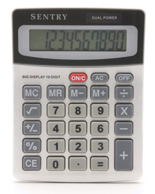 Sentry Mini-Desktop Calculator