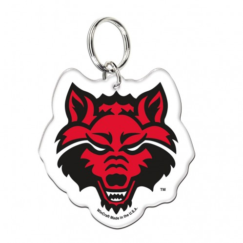 Arkansas State University Premium Acrylic Key Ring