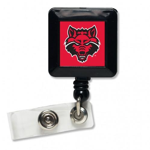 Arkansas State University Retractable Badge Holder