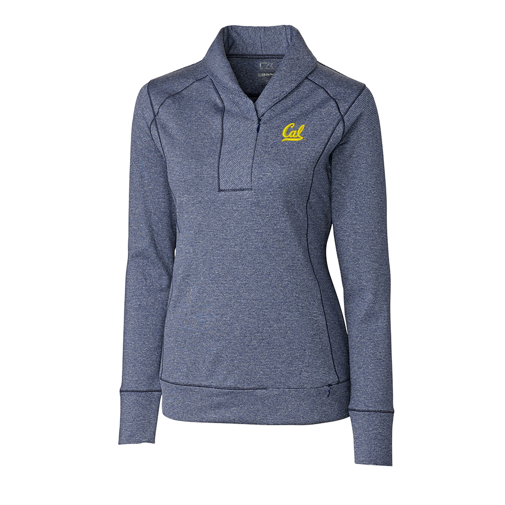 University of California Berkeley Women's CB Drytec Shoreline Half Zip