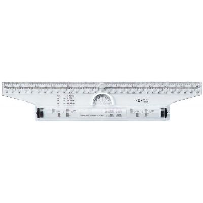 Rolling Parallel Ruler 12 Inch