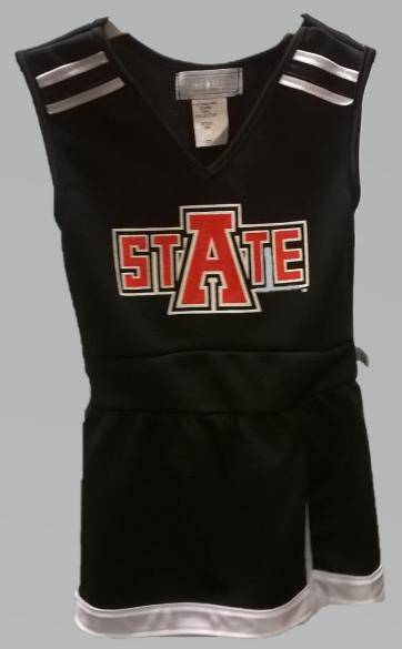 Arkansas State 1 Piece Cheer Dress