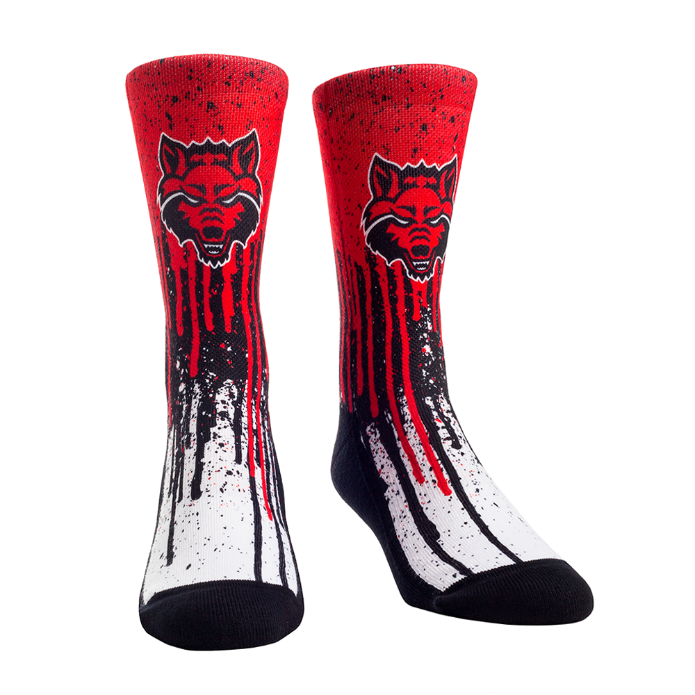 Arkansas State Pride Drip Socks