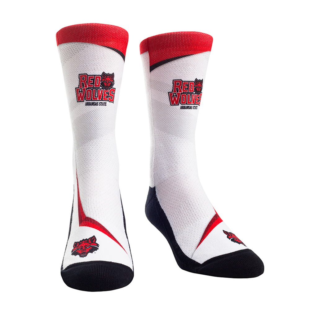 Arkansas State Speed Spirit Socks