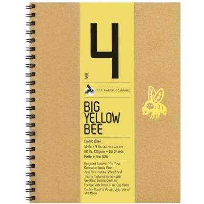 Big Yellow Bee Co-Mo Drawing Pad 9x12