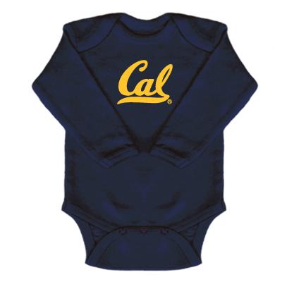 Cal Bears Long Sleeve Creeper