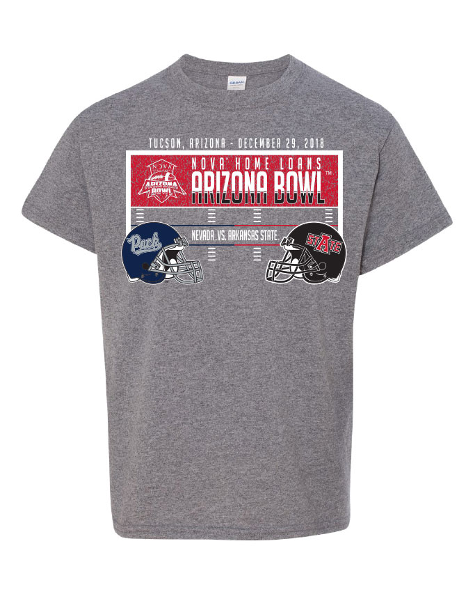 Pre-Order your 2018 Arizona Bowl Youth T Shirt