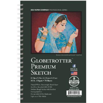 Globetrotter Premium Sketch Pad 5.5x8.5