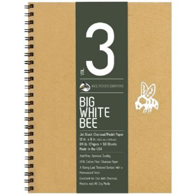 Big White Bee Jet Black Pad 9x12