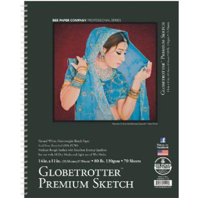 Globetrotter Premium Sketch Pad 11x14