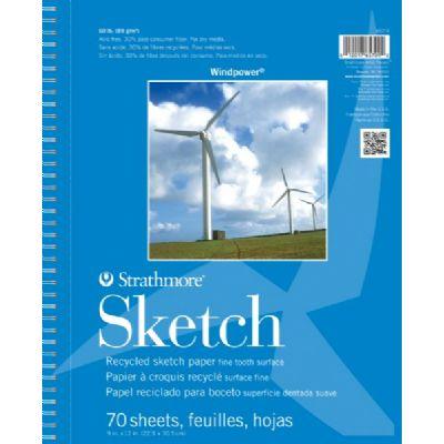 Windpower Sketch Pad 9x12