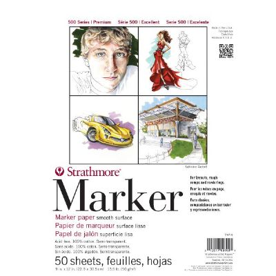 Strathmore 500 Series Marker Pad 9x12