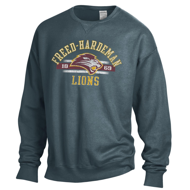 Freed-Hardeman Lions Comfort Wash Crew