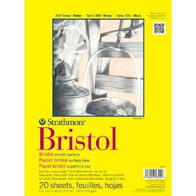 300 Smooth Bristol Pad 9x12