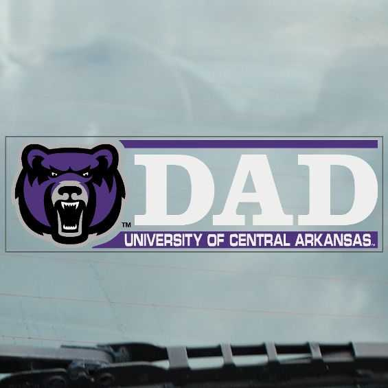 Dad Bearhead Decal