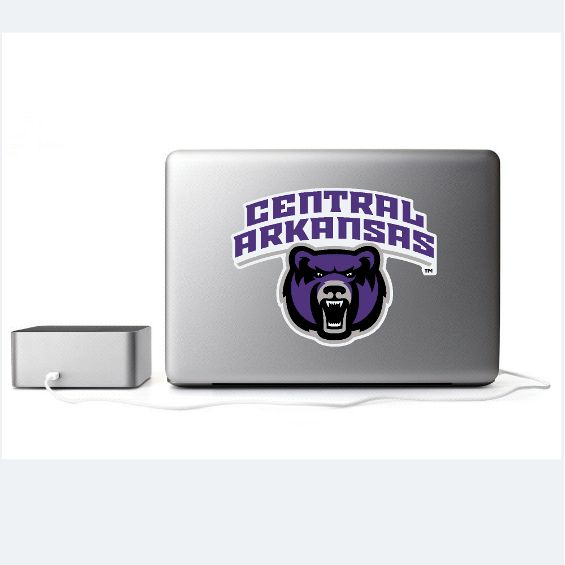 Removable Central Arkansas Mascot Decal