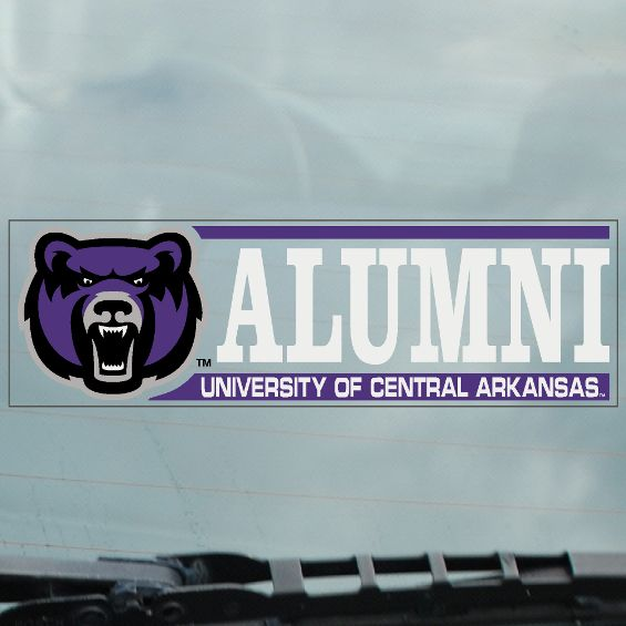 UCA Alumni Static Cling Decal