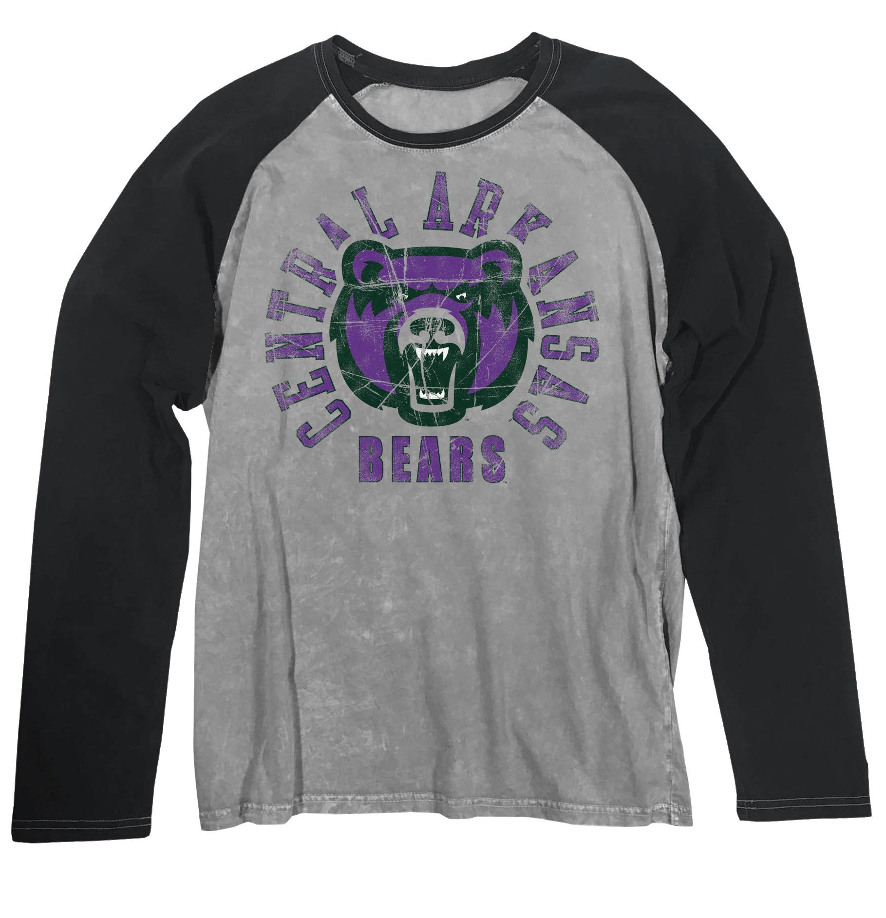 Bearhead L/S Raglan Washed Tee