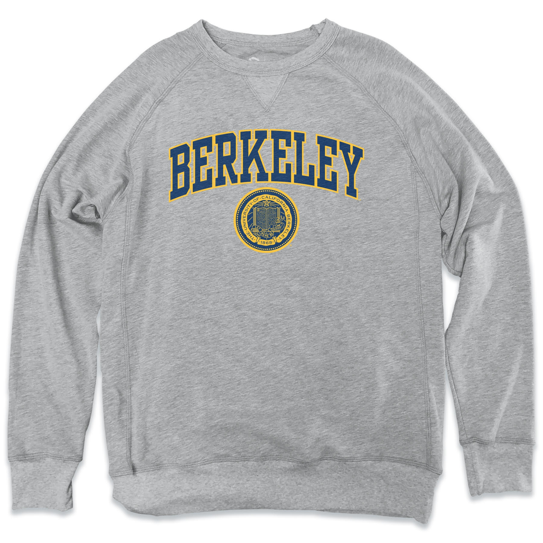 MD25-Cal Bears Men's Churchill Crew Neck Sweatshirt