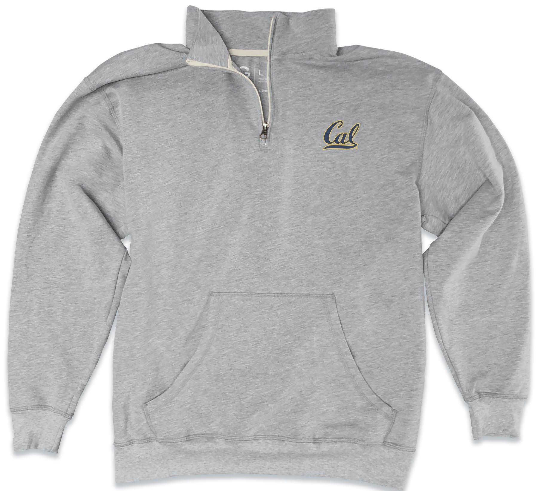 MD25-Cal Bears Men's Jim 1/4 Zip Sweatshirt