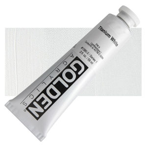 Golden Heavy Body Acrylic - Titanium White - 2 oz.