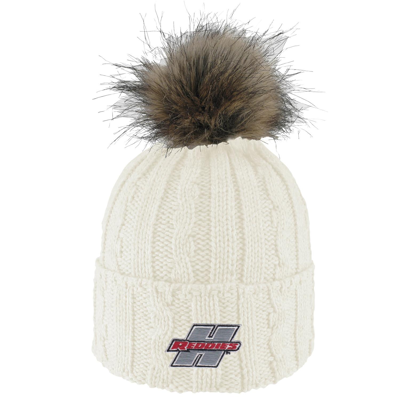 LogoFit Alps Fur Knit Pom Beanie