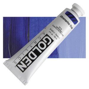 Golden Heavy Body Acrylic - Ultramarine Blue - 2 oz.