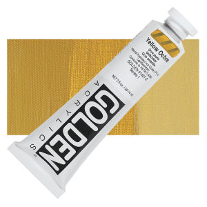 Golden Heavy Body Acrylic - Yellow Ochre - 2 oz.