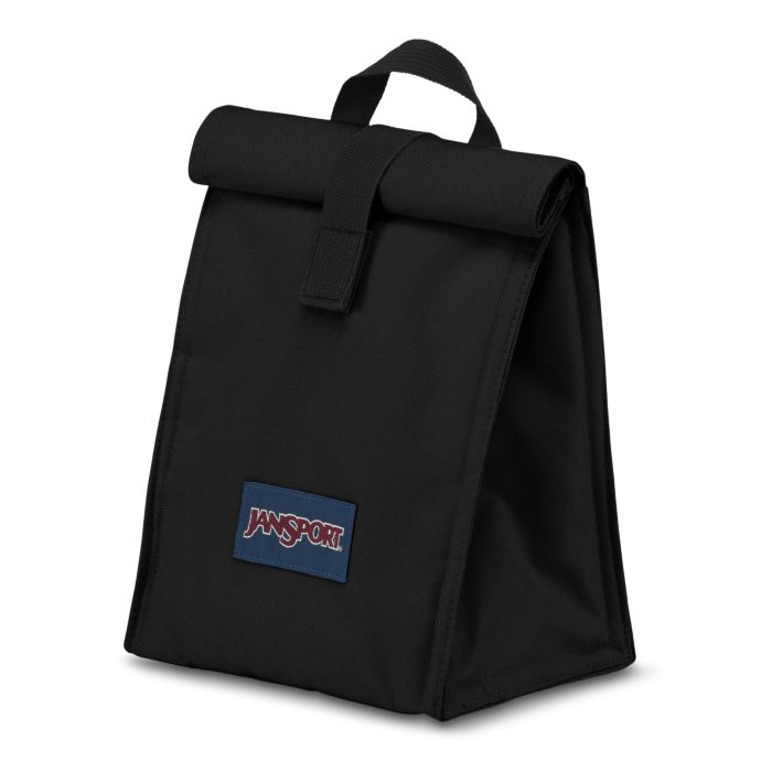 JanSport Rolltop Lunch Bag Black