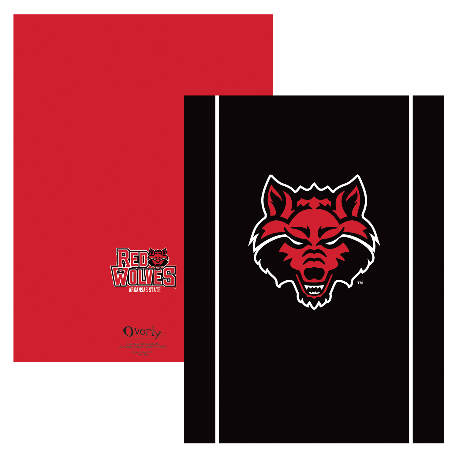 Red Wolves Pocket Folder